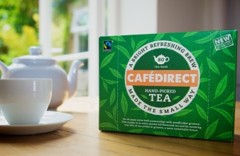 Cafedirect's new tea packs